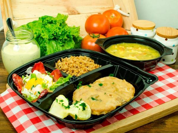 Almuerzo en Empaque Premium